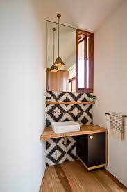 Small powder room design Bathroom Ideas 17 Bohemian Flair Homedit 40 Powder Room Ideas To Jazz Up Your Half Bath