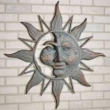 half face sun indoor outdoor wall art