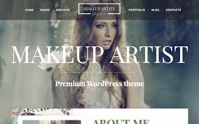 makeup artist pro by mw templates themeforest
