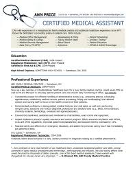cma resume sample template cma resume sample