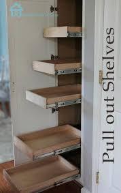 diy sliding pantry shelves kitchen organization pull out shelves in pantry shelving pantry awesome design