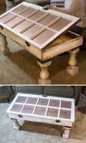 diy furniture ideas. Beautiful Furniture Salvaged Window DIY Coffee Table  Shabby Chic Furniture Ideas  Vintage Throughout Diy R