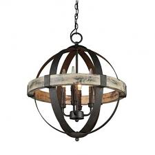 more views castello wood wrought iron 4 light chandelier
