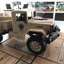 Wheel Drive Remote Control Truck Simulation Military Toy ...