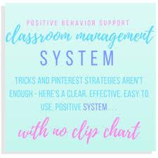 Classroom Management System Positive Behavior Support No Clip Chart