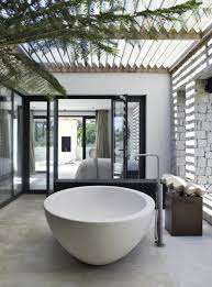 Bathroom: Amazing Shower Bathrooom With Nature Accents - Natural Bathroom