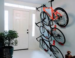 reddit front pagei got three bikes on that eight foot tall wall by making extra long hooks