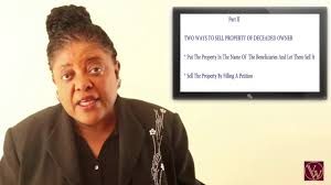 How To Sell Property Of Deceased Owner Part Ii Youtube
