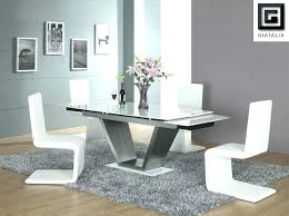 full size of modern glass dining table with extension top sets luxury room tables peaceful white