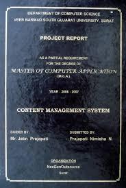 Project Report Title Page Format Xv Gimnazija Tk