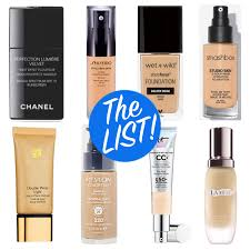 the list all the foundations i ve reviewed from best to worst