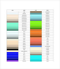 Colour Wheel Chart Colors Color Wheel Charts 6 Free Pdf Documents Download Free