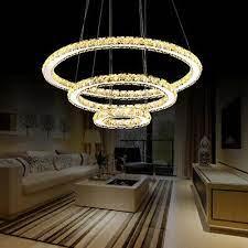 led crystal chandelier warm white 1 2 3