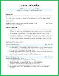 Objective For My Resume Best of Nursing Objectives For Resume Nursing Student Resume Objective