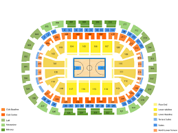 Memphis Grizzlies Stadium Seating Chart Memphis Grizzlies At Oklahoma City Thunder Tickets