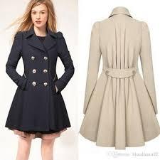 2018 autumn slim trench coat women long jacket plus size coats manteaux d hiver pour femmes winter windbreaker designer jackets coat for women from