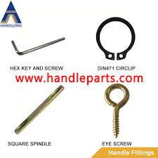 square door pin door handle square pin lock parts of square spindle pins