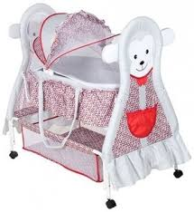 funky baby furniture. Fab N Funky Baby Cradle Grey And Red - Monkey Design Furniture T
