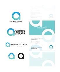 Unique Access Medical Logo Final Design Medical Logo Logos