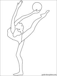 Kleurplaat Gymnastiek Gratis Kleurplaten