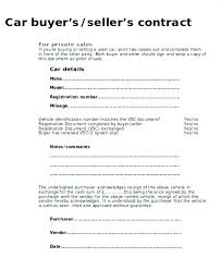 Car Selling Agreement Form Template Sales Receipt Image 1