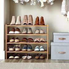 racks shelves hanging shoe rack holder ideas diy