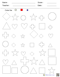 Kindergarten Worksheets Printable Math Worksheets for all ...
