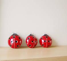 Ladybug Bathroom Accessories Ladybug Sculpture Etsy