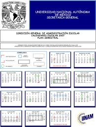 Calendario 2007 Mexico Calendario Escolar Semestral 2006 2007
