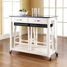 Image of: Small Kitchen Island On Casters