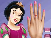 princess snow white nails makeover 4x3