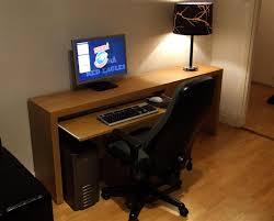 computer desk with keyboard tray ikea furniture magnificent mini computer desks design inspiration computer desks for gamers