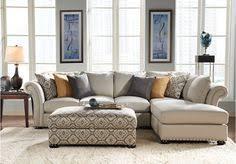 Sofia Vergara Colletion Santa Barbara 3 Pc Sectional Living Room Set Sofia Vergara Furniture C62