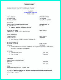 Download College Student Resume Templates Microsoft Word