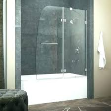 home depot bathtub doors available only at curved bathroom cabinet sliding glass