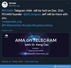 Pchain Pi Ama With Jeff Cao
