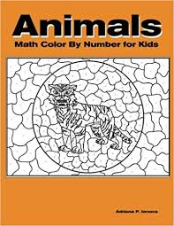 Add some colors of your imagination and make this purple color by number coloring page nice and colorful. Animals Math Color By Number Color By Number Coloring Books For Kids With 23 Large Pages Full Color Animals Kids Coloring Books Ages 4 8 Number Color By Number For