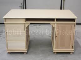 Porte In Legno Massello Grezze : Scrivanie e scrittoi grezzi scrivania grezza porta pc con piedi