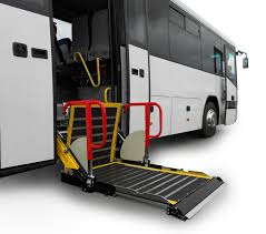 wheelchair lift bus. Fine Lift Busstepwell1 With Wheelchair Lift Bus