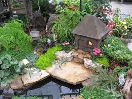 Small Picture Mini Garden with Pool and House Fairy Gardens Pinterest