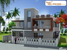 First Floor House Design Pictures Independent Floor Design Apnaghar House Design Page 5