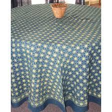 90 inch round tablecloth cotton indigo inch round tablecloth 90 inch round tablecloth