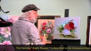 the beauty of oil painting behind the scenes episode 7 bright poppies