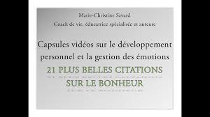 21 Plus Belles Citations Sur Le Bonheur Marie Christine Savard