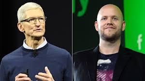 Battle Of The Charts Bloomberg Apple Spotify Discuss Siri Truce As Antitrust Battle Looms