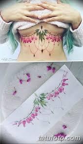 эскиз тату на грудь девушке 08032019 001 Tattoo Sketches