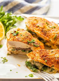 Grated parmesan cheese, flour, panko breadcrumbs, chicken breast tenders and 5 more. Chicken Breasts Stuffed With Prosciutto Spinach And Mozzarella Family Food On The Table