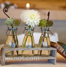 Terrific Casual Wedding Centerpieces Milk Bottles Bottle And Milk On  Pinterest