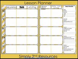 Good Lesson Plan Book Template Printable Lesson Plan Book