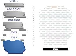 Novello Theatre Seating Chart Novello Theatre Seating Plan London Theatre Tickets